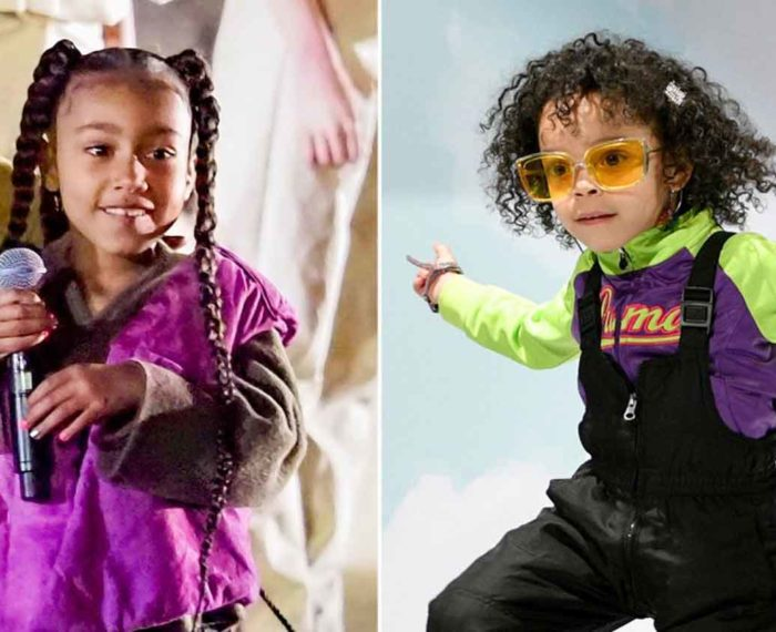 5-year-old Rapper Zaza & North West Drama